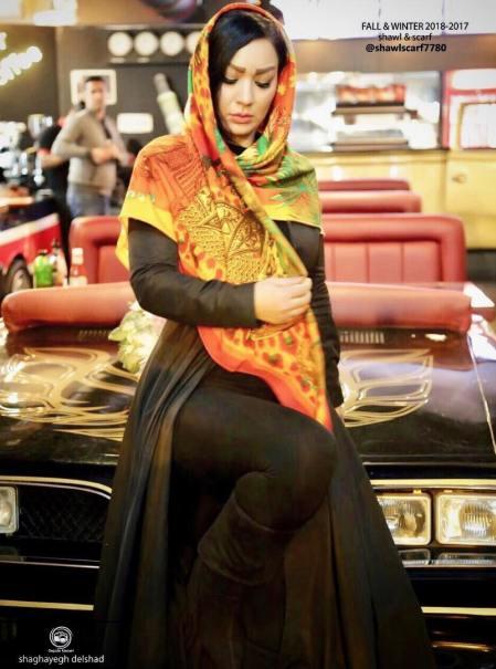 عکس تبلیغاتی شقایق دلشاد 2